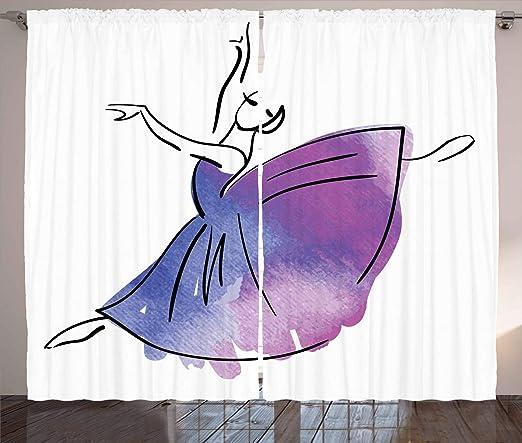 ABAKUHAUS Ballet Cortinas, Estilo De La Bailarina del İcono del ...