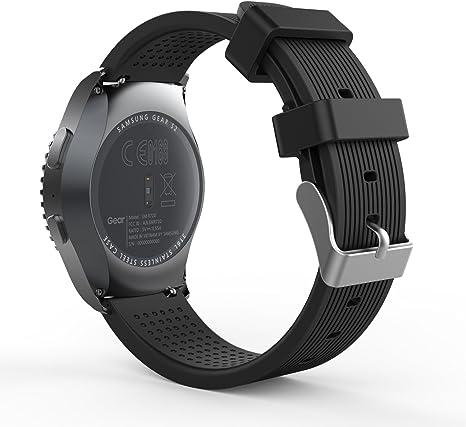 Amazon.com: MoKo - Correa Samsung de silicona para reloj ...