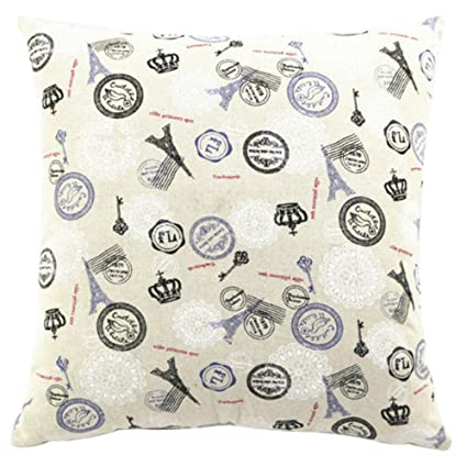 Buy Chezmax Square Rectangle Wavy Moire Printed Stuffed Cushion - Moire-unique-sofa-design