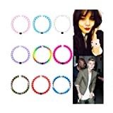 Amazon Price History for:9Pcs Beautiful Color Wrist Bracelet Band Party Gifts Small