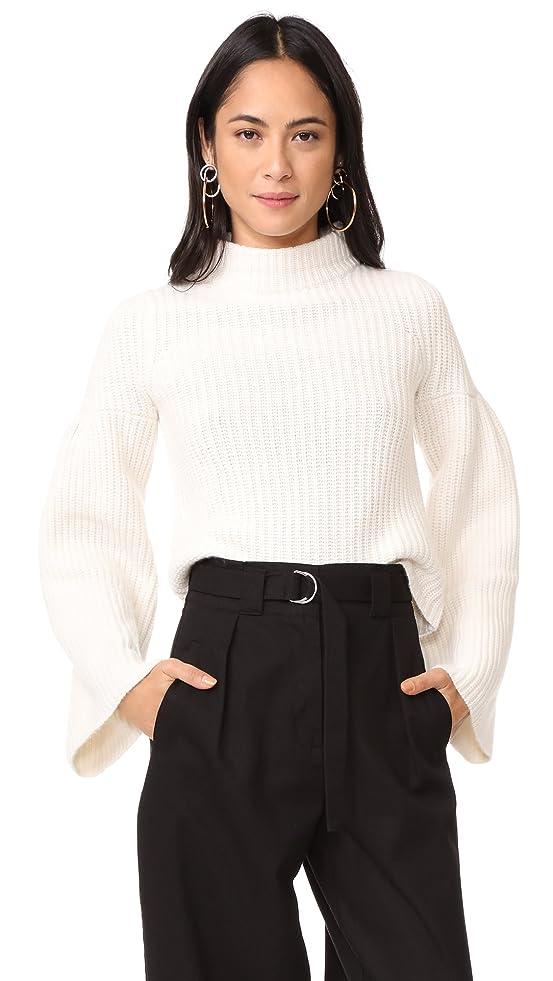 cropped sweater high-waist high waist