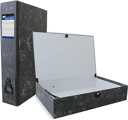 Just Stationery - Caja para guardar documentos: Amazon.es: Oficina y papelería