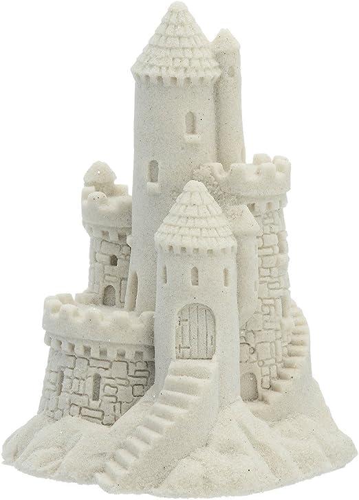 "Sand Castle Figurine 018 3.25/"" Tall Beach Wedding Decor Mr Sandman Collectible"