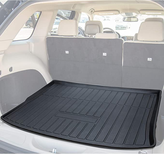 Cargo Liner Rear Cargo Tray Trunk Floor Mat Waterproof Protector for 2014-2019 Jeep Cherokee by Kaungka ?not fit for Jeep Grand Cherokee?