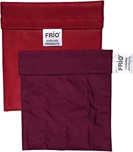 FRIO Insulin Pen Cooling Case, Reusable Evaporative Medication Cooler - Small Wallet, Red