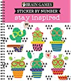 Brain Games - Sticker by Number: Stay Inspired