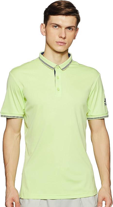 adidas Polo-Shirt Pique, Hombre, Amarillo (seamhe), 2XL: Amazon ...