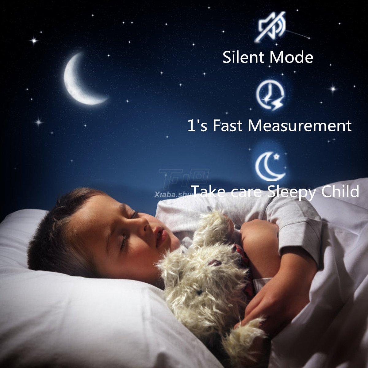 Amazon.com: Infrarrojos frente y oído termómetro bebé ...