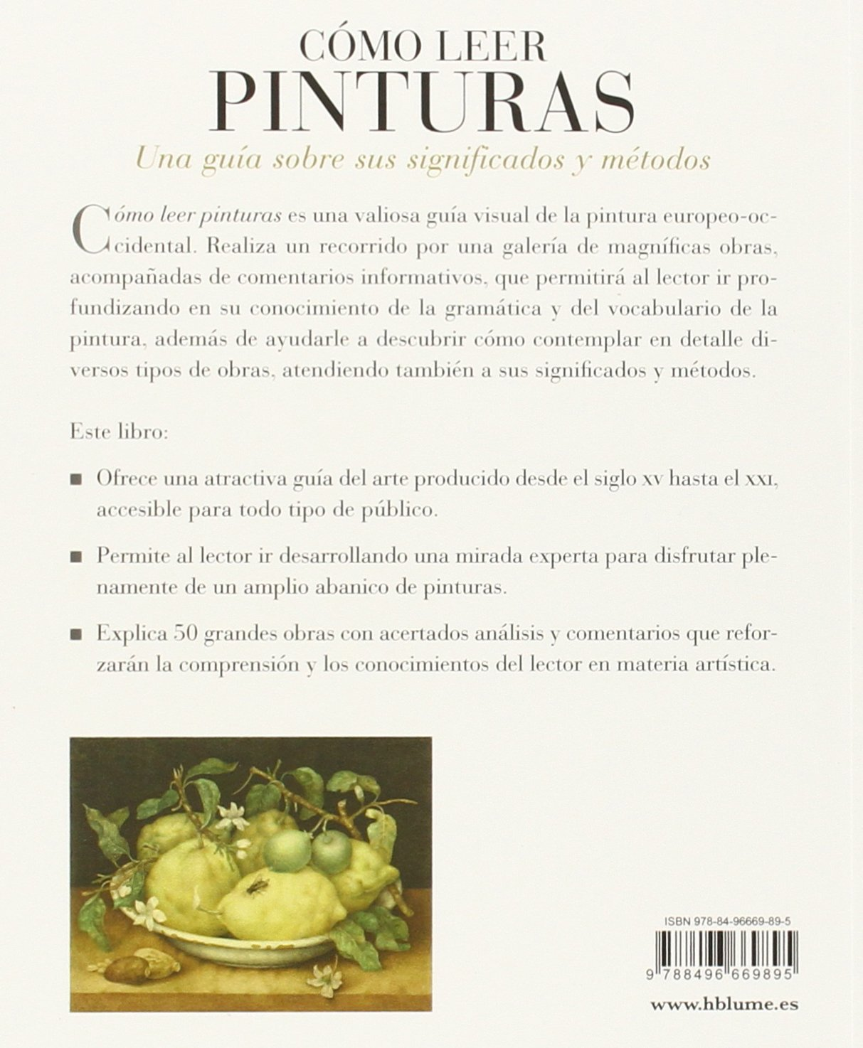 Cómo leer pinturas: Una guía sobre sus significados y métodos: Amazon.es: Liz Rideal, Jesús Espino Nuño: Libros