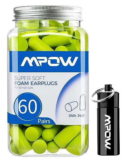 Amazon.com: Mpow 106 Tapones para los oídos de tamaño ...