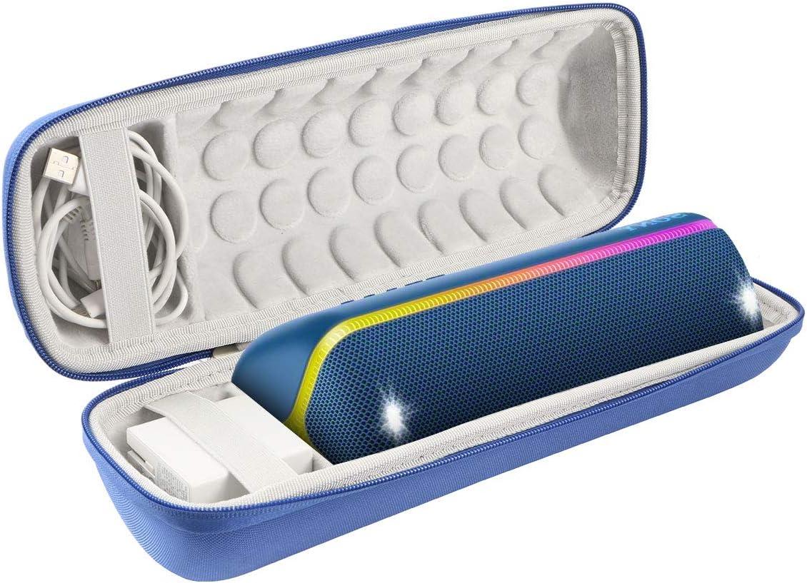 Khanka Duro Viaje Estuche Bolso Funda para Sony SRS-XB32 Altavoz inalámbrico portátil (Azul): Amazon.es: Electrónica