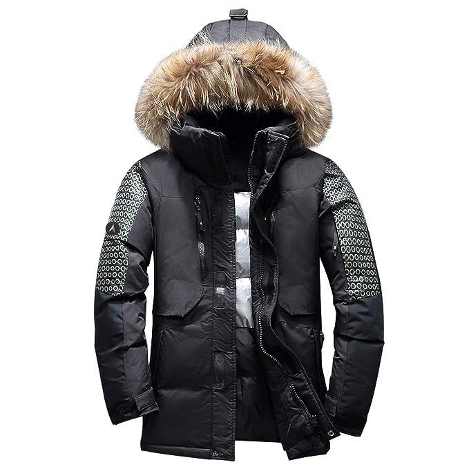 Amazon.com: Chaqueta de invierno para hombre, gruesa, cálida ...