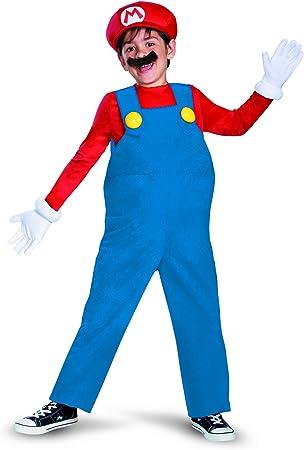 Disfraz MarioDeluxe Niño - 4 - 6 años: Amazon.es: Juguetes y juegos
