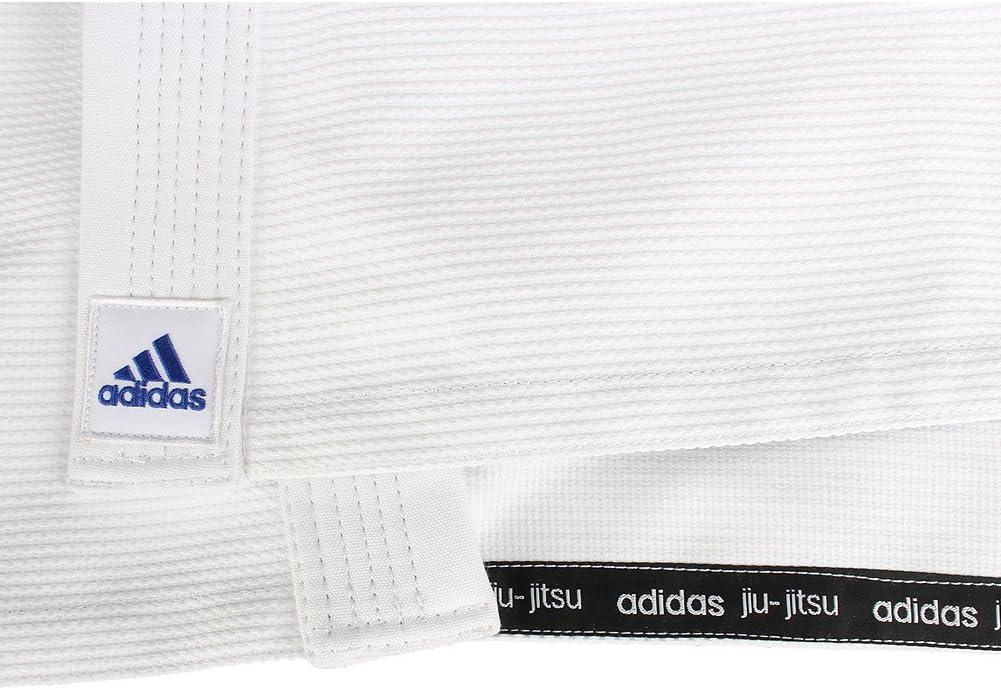 Estresante seguro Excelente  adidas White Jj600 Quest BJJ Kimono A4: Sports & Outdoors - Amazon.com
