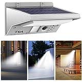 iThird Solar Motion Sensor Light Outdoor 21 LED 330LM (luce diurna)
