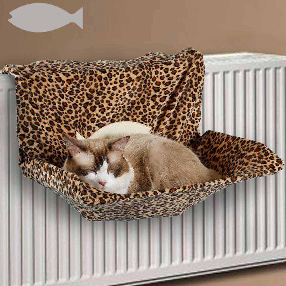 D-SYANA8 - Hamaca de Metal para Gato, Soporte para Chimenea, radiador, Cama para Colgar, Color Beige: Amazon.es: Hogar