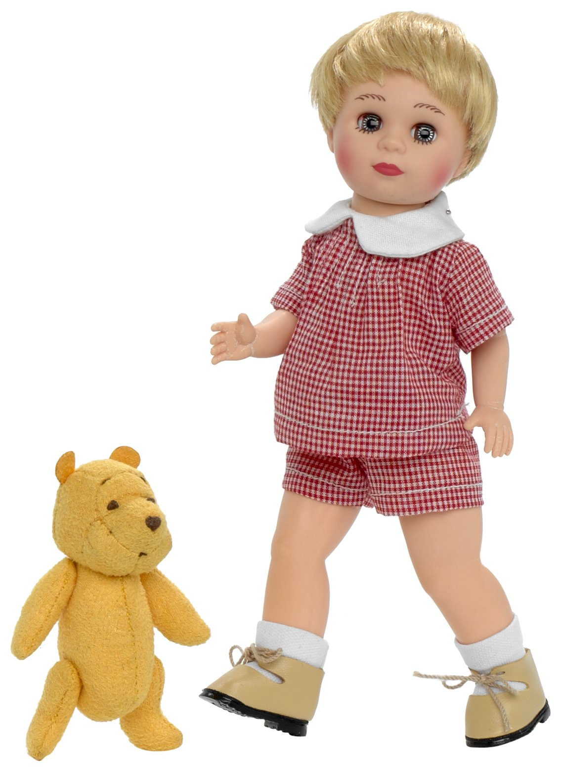 Madame Alexander Christopher Robin Doll and Classic Winnie The Pooh by Madame Alexander