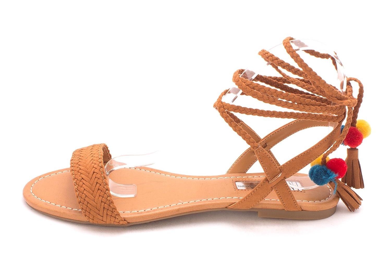 INC International Concepts Womens Ganice Fabric Open Toe Golden Cog Size 95