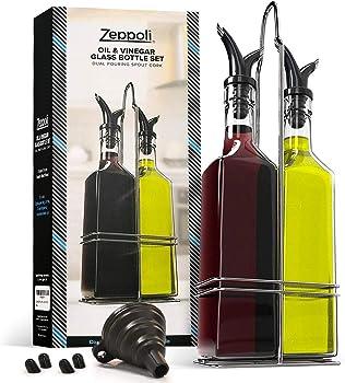 Zeppoli Oil and Vinegar Bottle Set