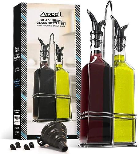 Zeppoli Oil & Vinegar Bottle Set