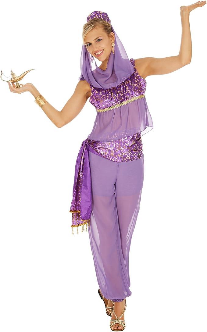 TecTake dressforfun Disfraz de Bailarina Arabe para Mujer | Parte ...