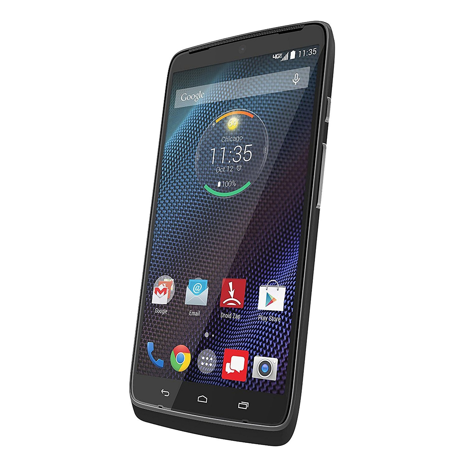 Motorola Droid Turbo XT1254 - 32GB Android Smartphone - Black w/ 1 YEAR EXTENDED CPS LIMITED WARRANTY (Certified Refurbished)