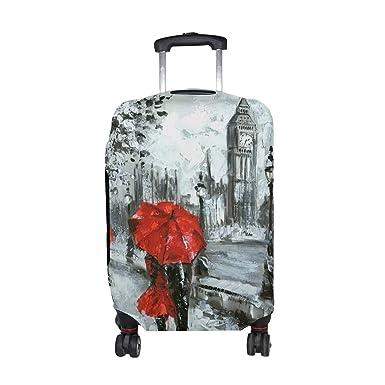 Amazon.com: Funda para maleta de viaje, diseño de tacones ...