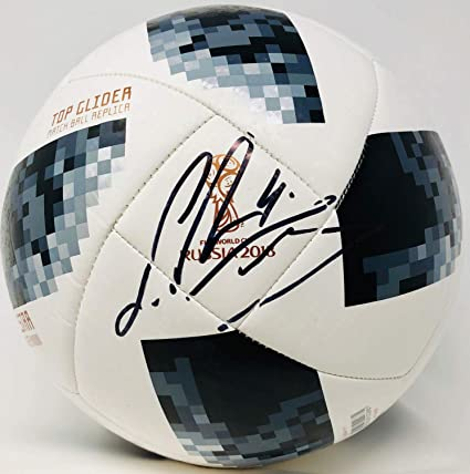 eecca2836 Image Unavailable. Image not available for. Color  Sergio Ramos Autographed  Signed Memorabilia Adidas 2018 World Cup Ball - Beckett Authentic ...