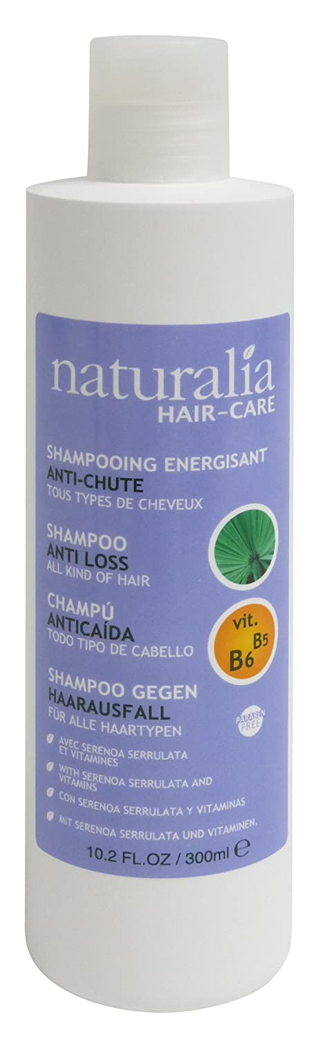 Amazon.com: NATURALIA Serenoa Serrulata, With Vitamin B5 & B6 Shampoo Anti Hair Loss, 300Ml: Beauty