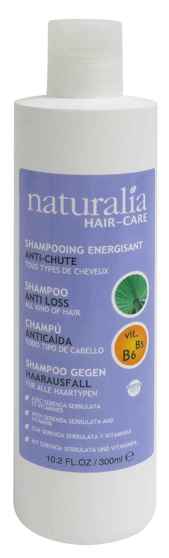 Amazon.com: NATURALIA Serenoa Serrulata, With Vitamin B5 & B6 Shampoo Anti Hair Loss, 300Ml: Beauty