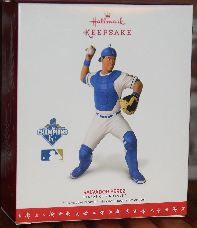 Amazon.com: Hallmark 2016 Christmas Ornament MLB Kansas City Royals ...