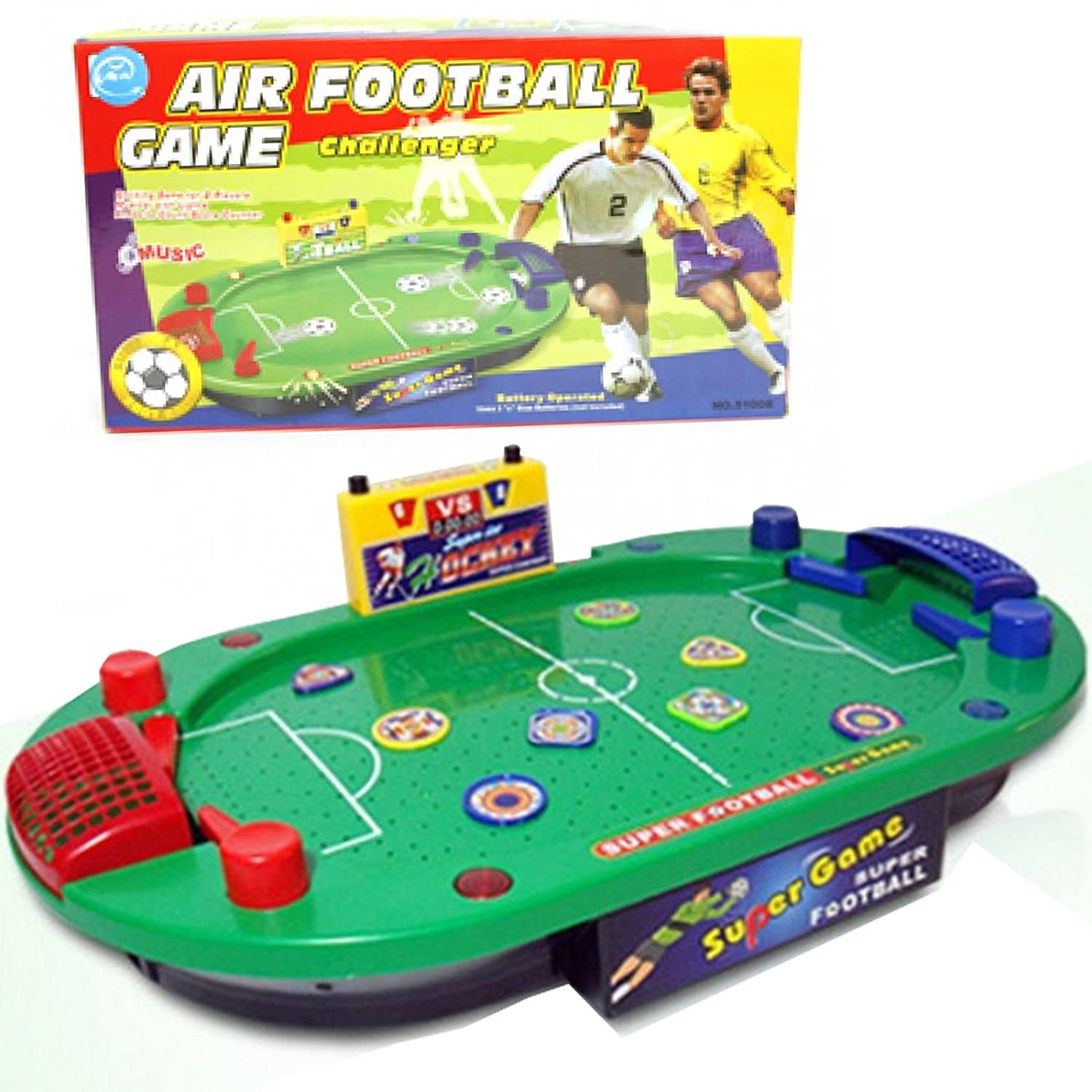ZUMZ NEW TABLE TOP AIR FOOTBALL GAME ELECTRONIC SOUNDS GREAT