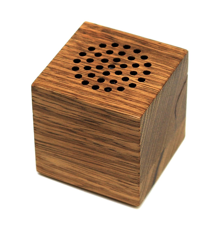 Innovative Technology Wooden Cube 3 Portable Speaker Huh 106
