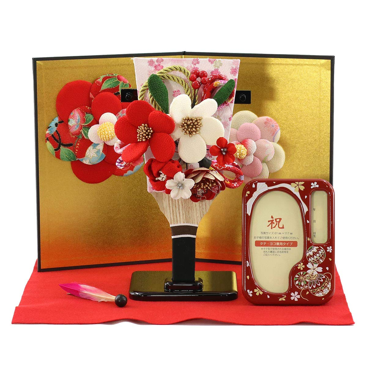 12PC JUMBO GIFT BAG FLORAL DESIGN WITH CLEAR WINDOW IN FRONT ALL OCCASION WRAP