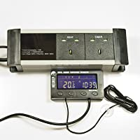 NEOREP Digital Vivarium Reptile Thermostat Day/Night Lighting and Heating Controller DDT500