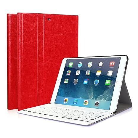 CoastaCloud iPad 9.7 2018/iPad 9.7 2017 Funda Magnética con Teclado
