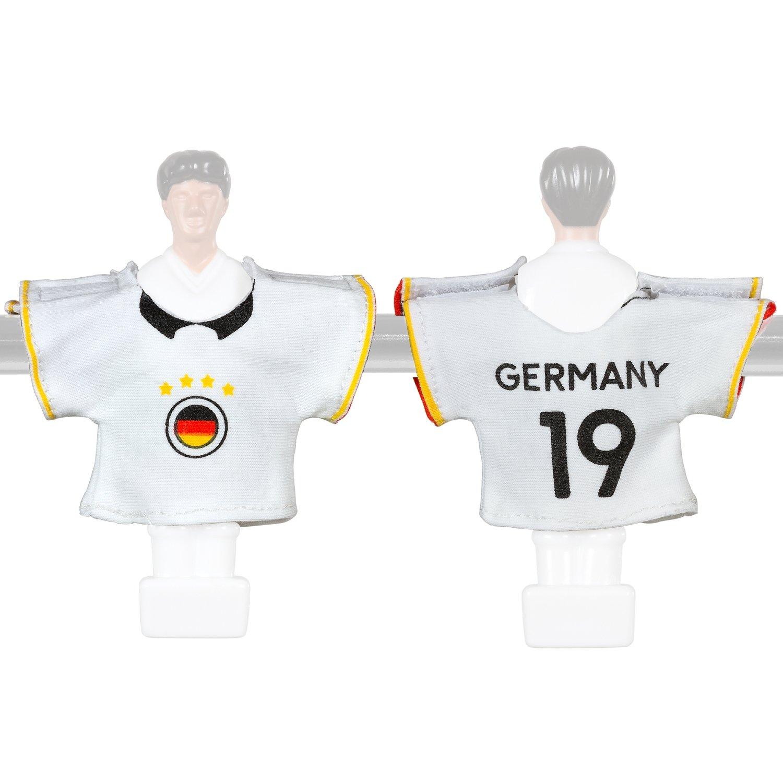 Kicker Trikot Tischfussball Zubehör Trikot-Set Deutschland: Amazon ...