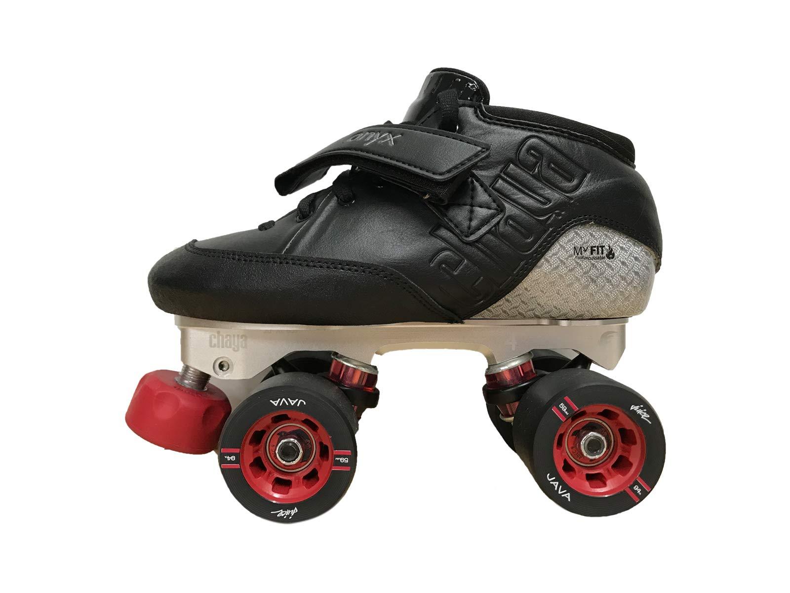 Chaya Onyx Quad Derby Roller Skate (EUR 43 / US 11)