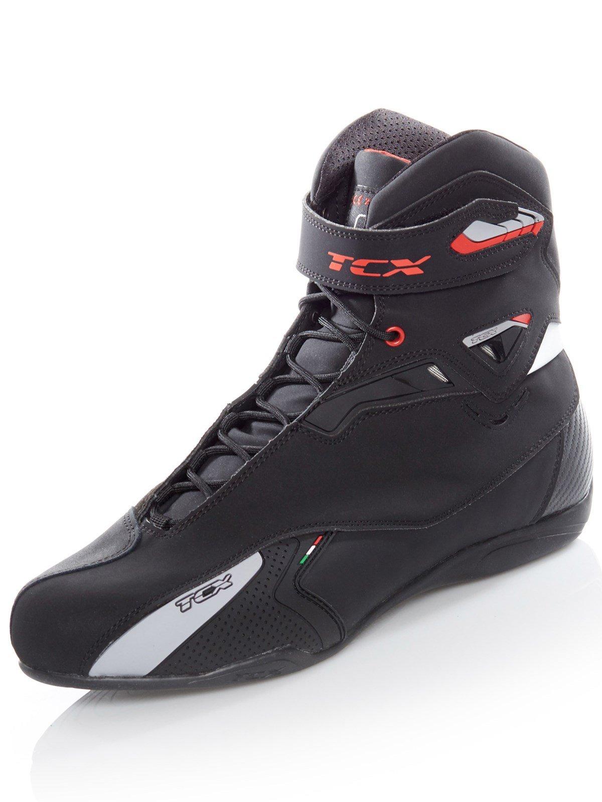 TCX Rush Waterproof Mens Street Boots W/P Black 41 EUR/8 USA