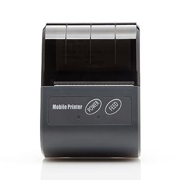 rongta rpp02 N Pocket Talla Pequeña impresora térmica 58 mm ...
