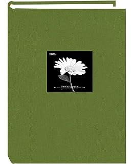 Amazon.com: Fabric Frame Cover Photo Album 300 Pockets Hold 4x6 ...
