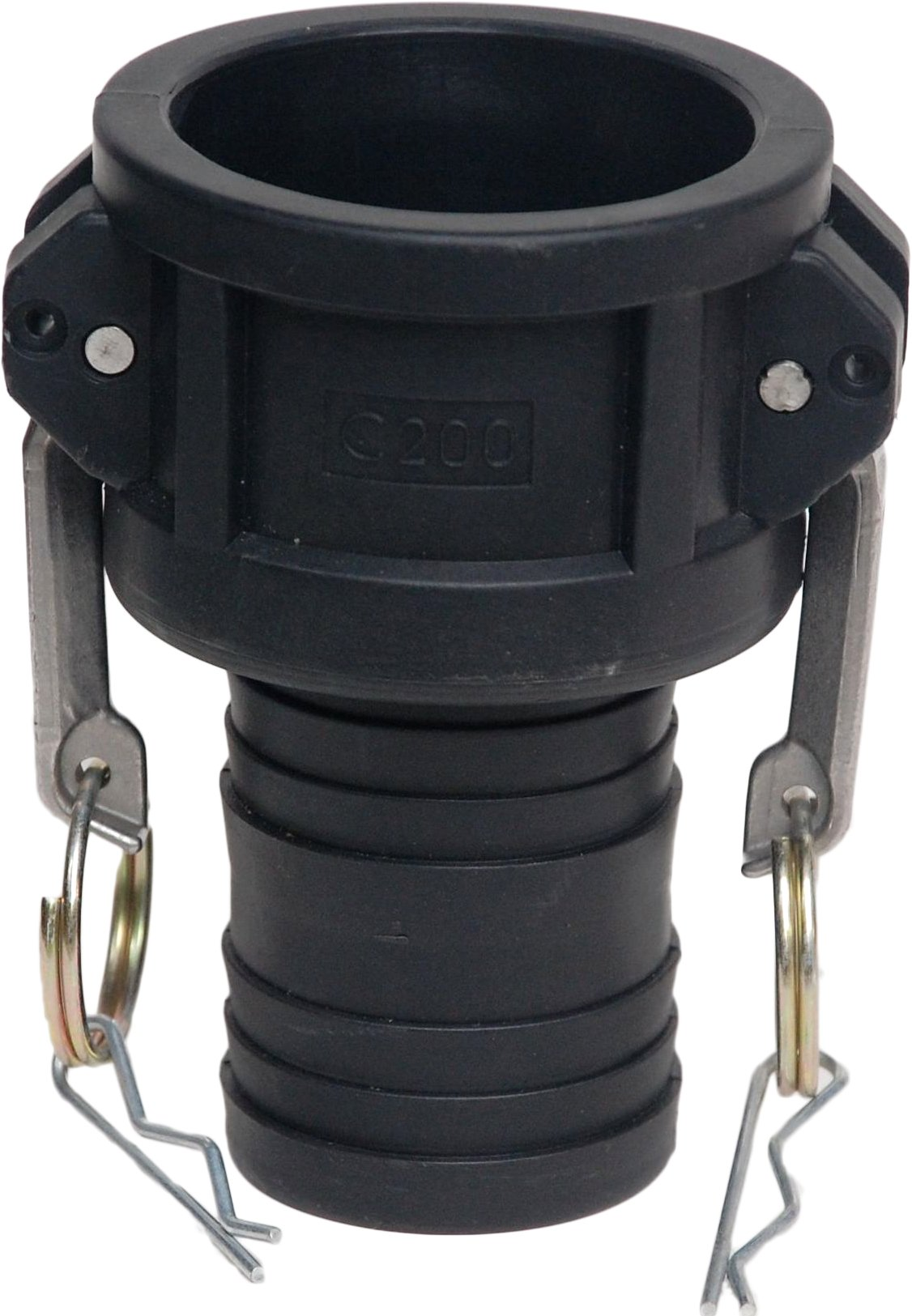 C 1.25 Cost Wise Polypropylene Camlock lay flat hose fittings TYPE C on one listing, the irrigation specialists
