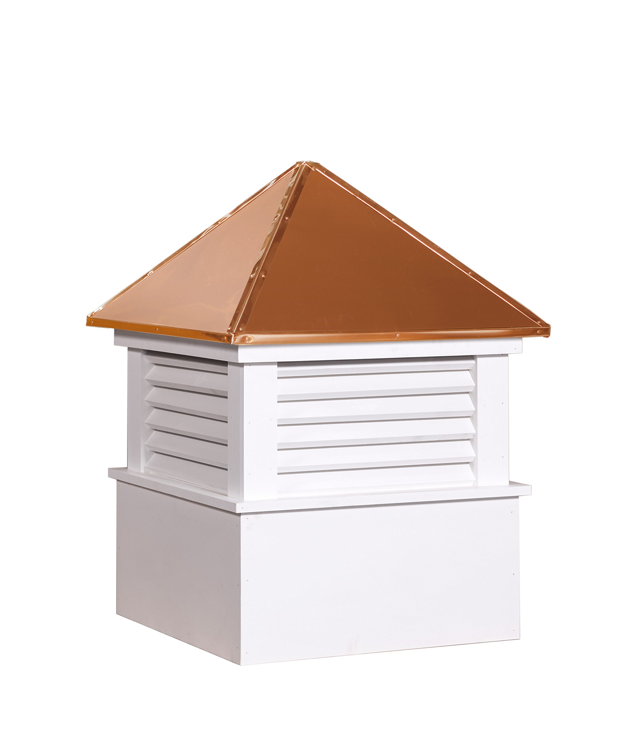 East Coast Weathervanes and Cupolas Vinyl Douglas Cupola (Vinyl, 21 in square x 30 in tall) by East Coast Weathervanes and Cupolas