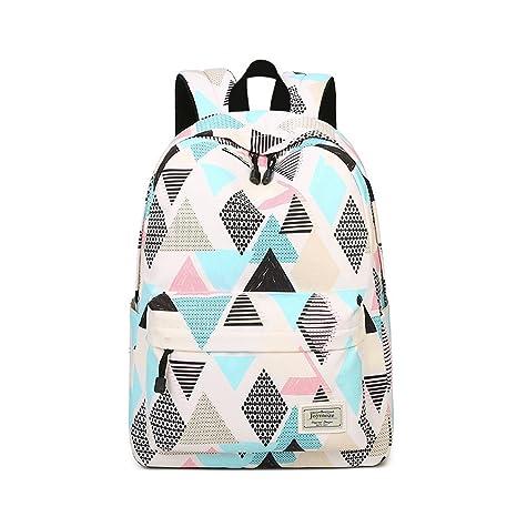 1fc9b183ca Amazon.com  Joymoze Waterproof Girl School Backpack Fit for 15.6