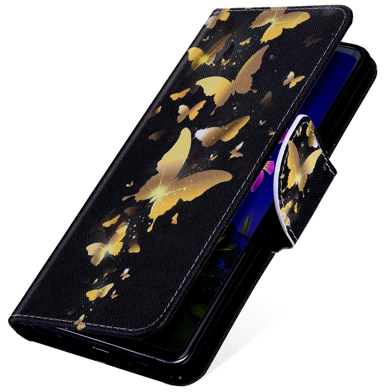 Felfy Kompatibel mit Galaxy A6 2018 H/ülle,Kompatibel mit Galaxy A6 2018 Handyh/ülle Leder Schutzh/ülle Magnetic Flip Case Gemalt Katze Muster PU Lederh/ülle Klapph/ülle Tasche mit Stand Function