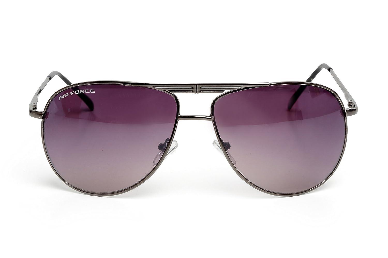 Air Force UV400 Gafas de Sol Estilo Aviator (La Nueva Temporada) Con Funda
