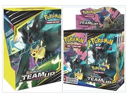 Amazon.com: Pokémon TCG - Caja de recuerdo para equipo de ...