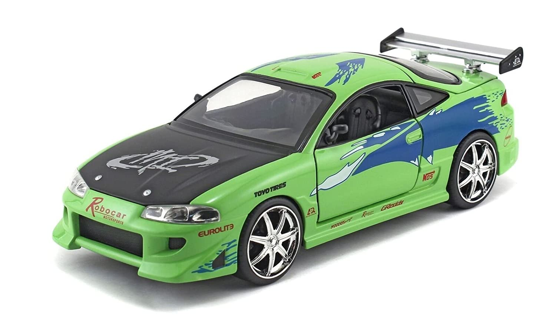 toyota supra fast and furious green. amazoncom brianu0027s mitsubishi eclipse green toyota supra fast and furious