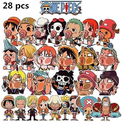 Pegatinas De Dibujos Animados Pack One Piece Kid Sticker Juguetes ...