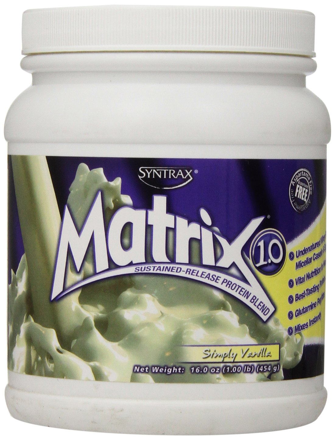 Syntrax Matrix Whey Protein, by Simply Vanilla, 1 Pound B00MGCK8C0 by Whey Syntrax B00MGCK8C0, izumiジュエリーシマノ:518ccc81 --- dakuwebsite.xyz